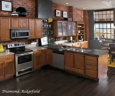dark kitchen remodeling